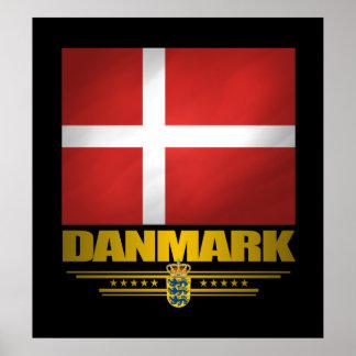 """Orgullo de Dansk "" Póster"