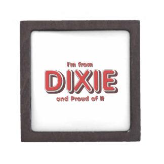 Orgullo de Dixie de la CAMISETA Caja De Joyas De Calidad