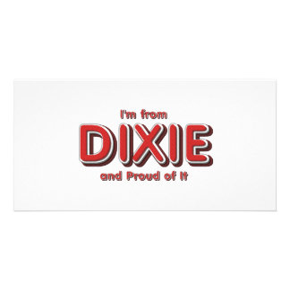 Orgullo de Dixie de la CAMISETA Tarjeta Personal