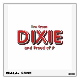 Orgullo de Dixie de la CAMISETA Vinilo Adhesivo