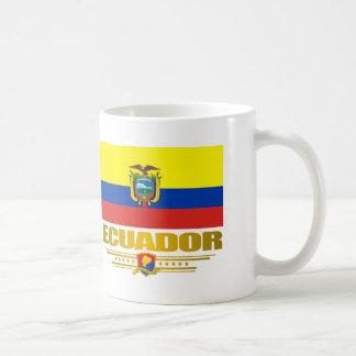 """""""Orgullo de Ecuador """" Taza Básica Blanca"""