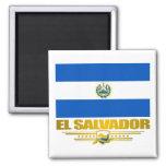 """""""Orgullo de El Salvador """" Imán Cuadrado"""