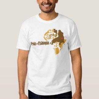 Orgullo de Etiopía - con amor Remera