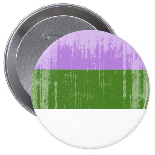 Orgullo de Genderqueer del vintage Pin