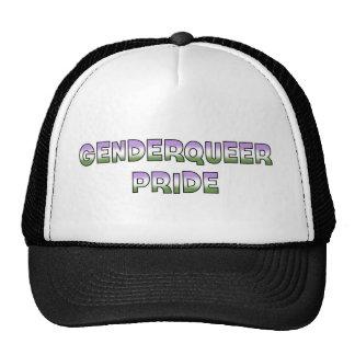Orgullo de Genderqueer Gorras De Camionero