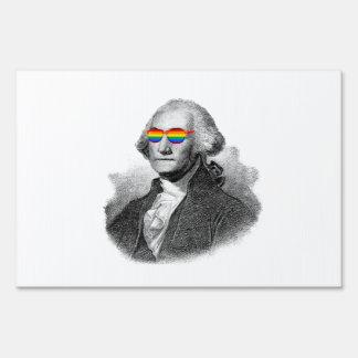 Orgullo de George Washington Letrero