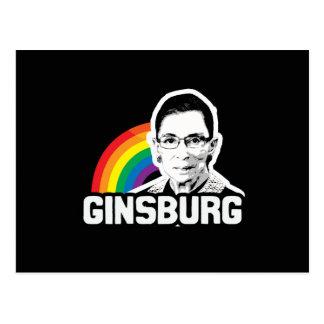 Orgullo de Ginsburg Postales