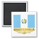 Orgullo de Guatemala Imán Cuadrado