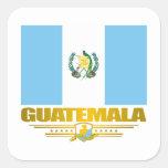 Orgullo de Guatemala Pegatina Cuadrada