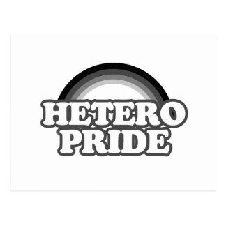 Orgullo de Hetero Postales