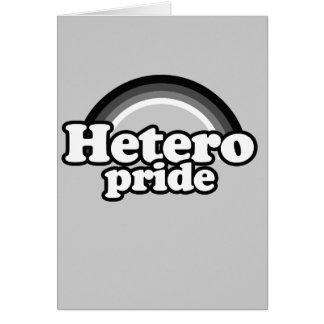Orgullo de Hetero Felicitacion