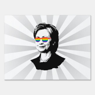 Orgullo de Hillary Clinton Señal