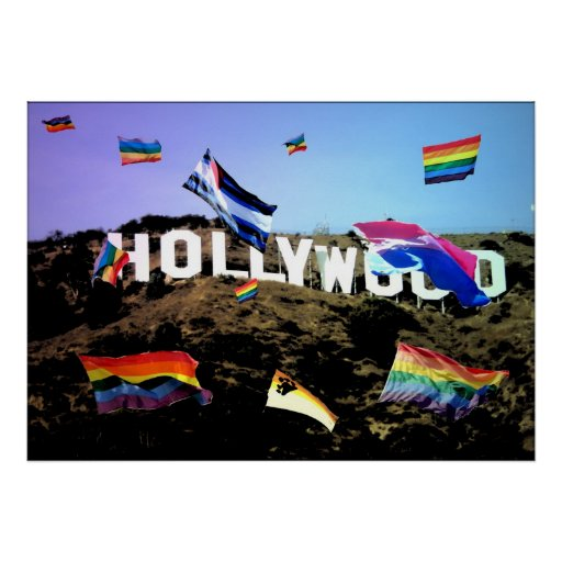 Orgullo de Hollywood Posters