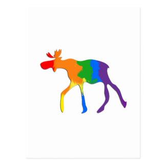 Orgullo de homosexual y lesbiana canadiense postales