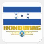 """""""Orgullo de Honduras """" Colcomanias Cuadradas"""