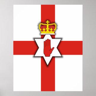 Orgullo de Irlanda del Norte Poster