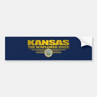 Orgullo de Kansas Pegatina Para Auto