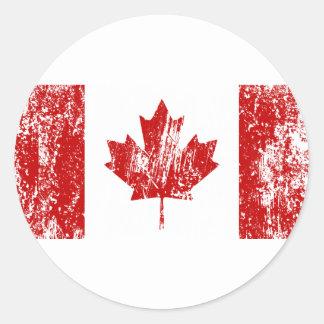 Orgullo de la bandera de Canadá Etiquetas