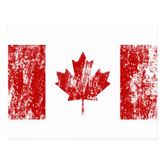 Orgullo de la bandera de Canadá Postales