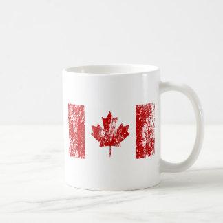 Orgullo de la bandera de Canadá Taza