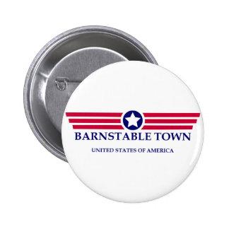 Orgullo de la ciudad de Barnstable Pin Redondo 5 Cm