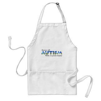 Orgullo de la conciencia del autismo delantal
