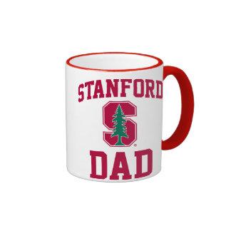 Orgullo de la familia de Stanford Taza De Dos Colores