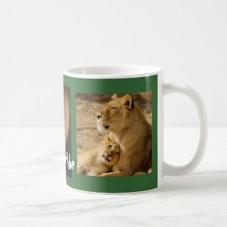 Orgullo de la familia - taza del león