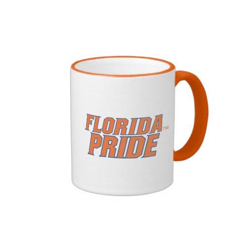 Orgullo de la Florida - naranja y azul Taza