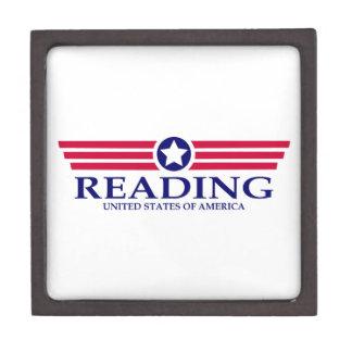 Orgullo de la lectura caja de joyas de calidad