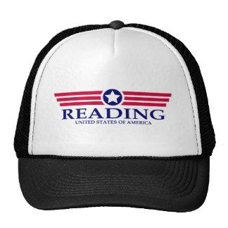 Orgullo de la lectura gorras de camionero