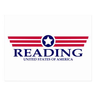 Orgullo de la lectura tarjeta postal