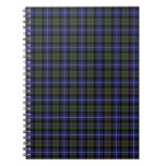 Orgullo de la montaña del tartán de Escocia Cuaderno