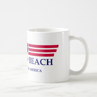 Orgullo de la playa de Ormond Taza Básica Blanca