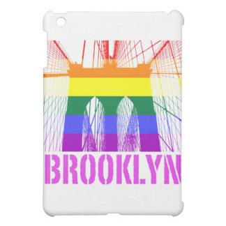 Orgullo de la silueta del puente de Brooklyn