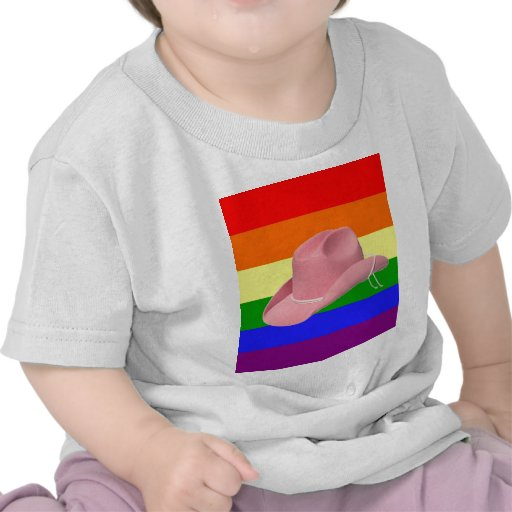 Orgullo de la vaquera camiseta