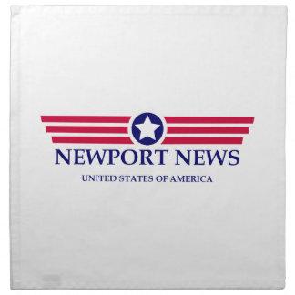 Orgullo de las noticias de Newport Servilletas De Papel