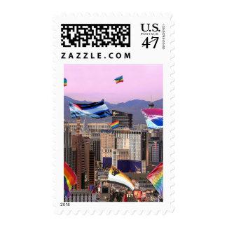 Orgullo de Las Vegas Sello Postal