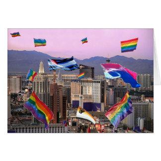 Orgullo de Las Vegas Tarjeta De Felicitación