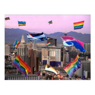 Orgullo de Las Vegas Tarjeta Postal