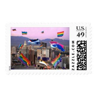 Orgullo de Las Vegas Timbre Postal