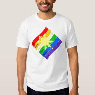 ¡Orgullo de LGBT Pinoy/Pinay! Poleras