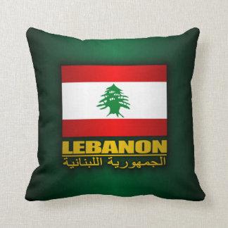 Orgullo de Líbano Cojín Decorativo