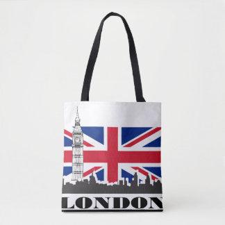 Orgullo de Londres Bolsa De Tela