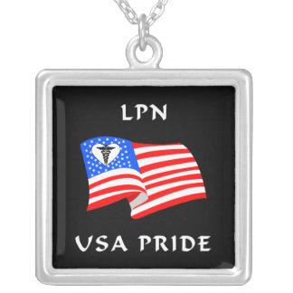 Orgullo de LPN los E.E.U.U. Colgante Cuadrado