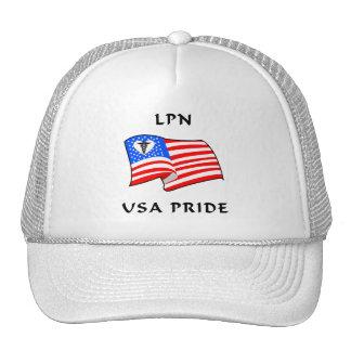 Orgullo de LPN los E.E.U.U. Gorras