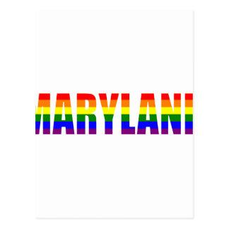 Orgullo de Maryland Tarjetas Postales