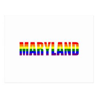 Orgullo de Maryland Postales