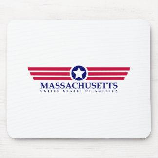 Orgullo de Massachusetts Alfombrillas De Raton