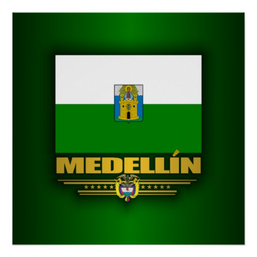 Orgullo de Medellin Póster